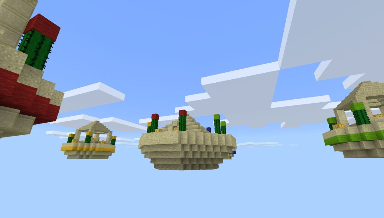 image for 1Lucky Islands Minecraft map