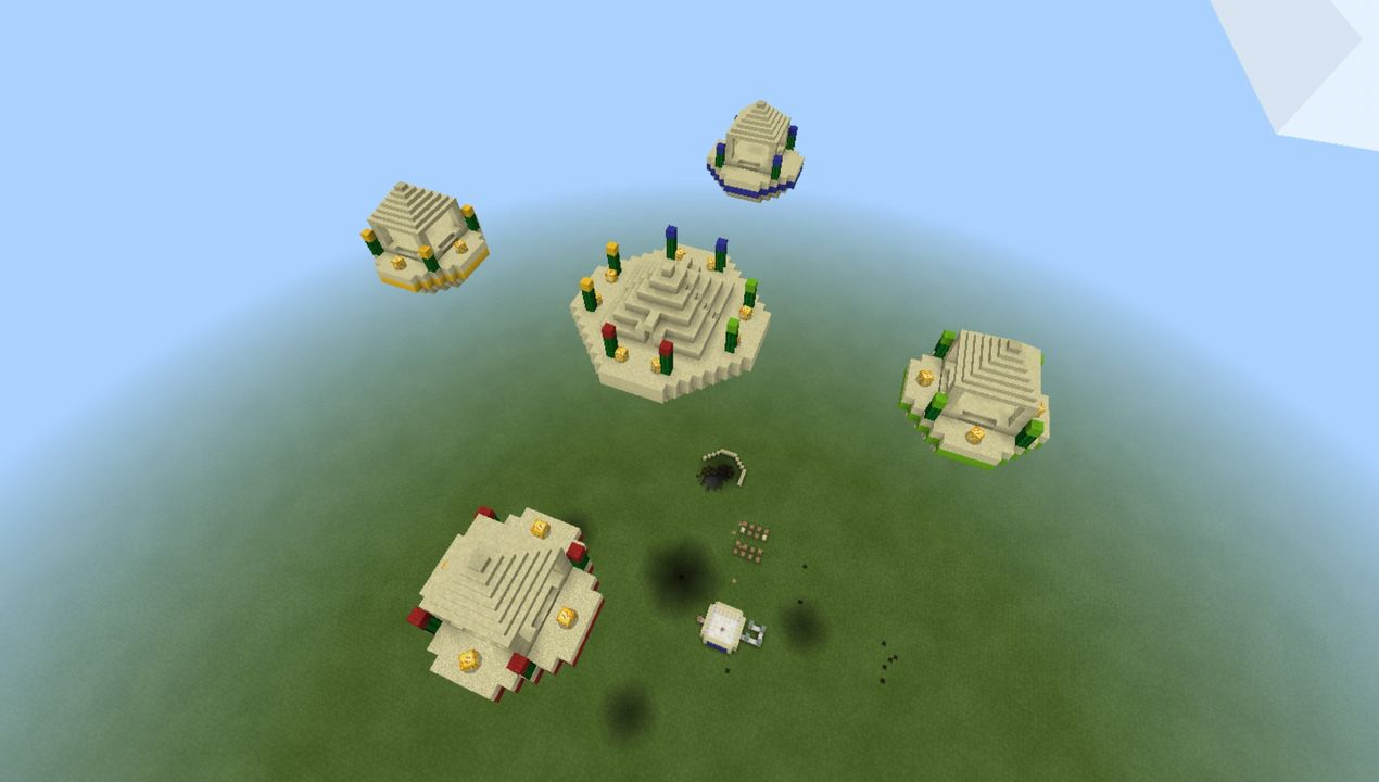 image for 2Lucky Islands Minecraft map