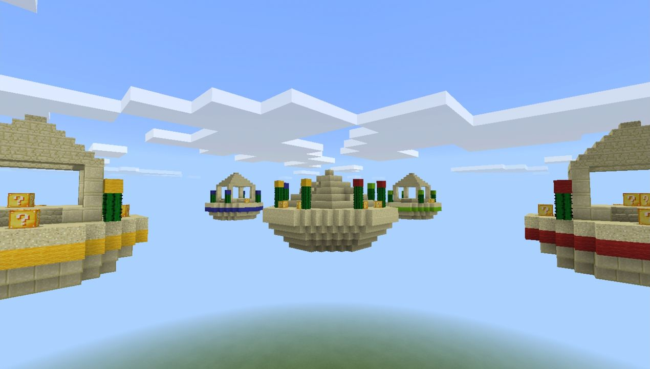 image for 4Lucky Islands Minecraft map