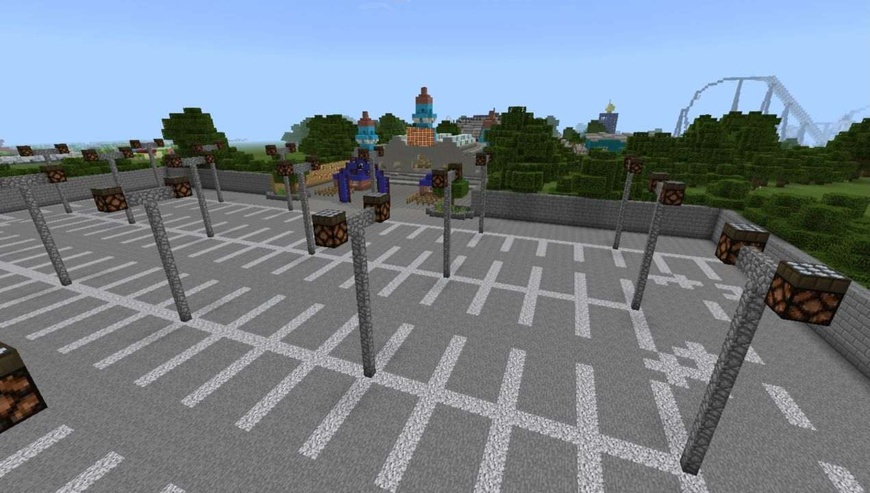 image for 1Thorpe Park MCPE map
