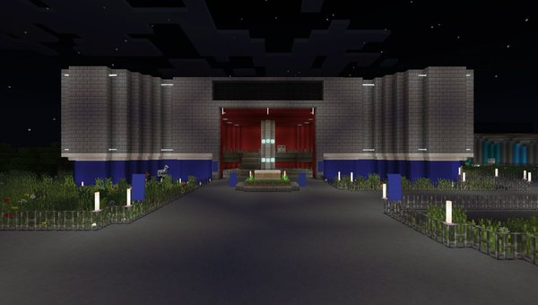 Epcot Center map for MCPE