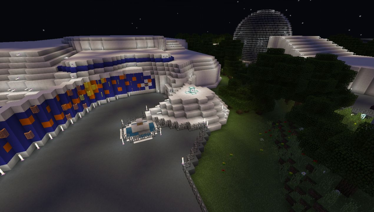 image for 2Epcot Center map for MCPE