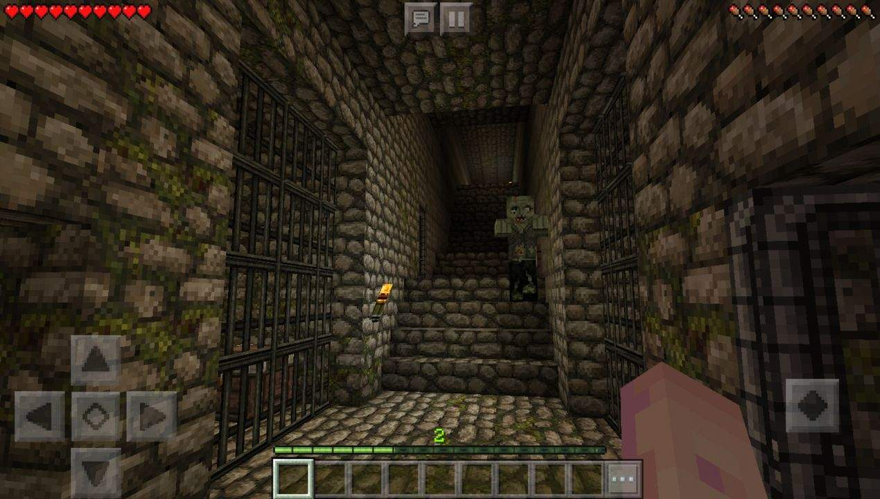 Dungeon Escape MCPE map