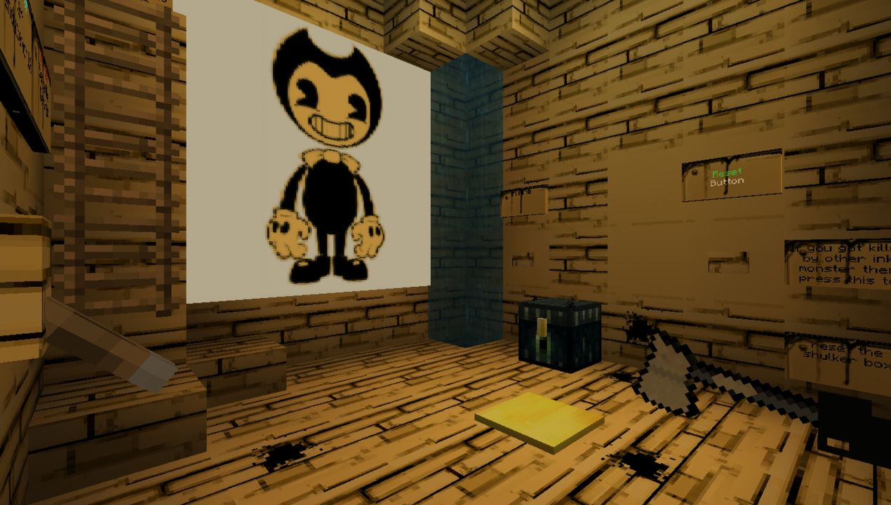 image for 4Bendy Game Horror MCPE map (Previous Story 1)