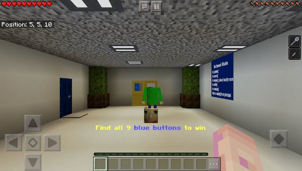 Find The Button: Baldi's Basics