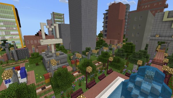 Raionny City MCPE map