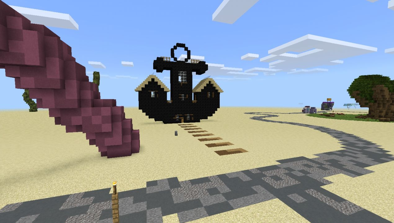 image for 1Bikini Bob City MCPE map