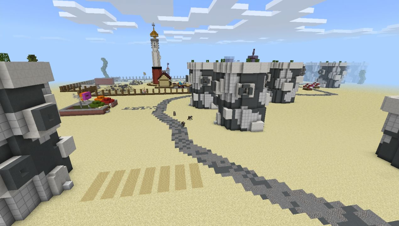 image for 3Bikini Bob City MCPE map