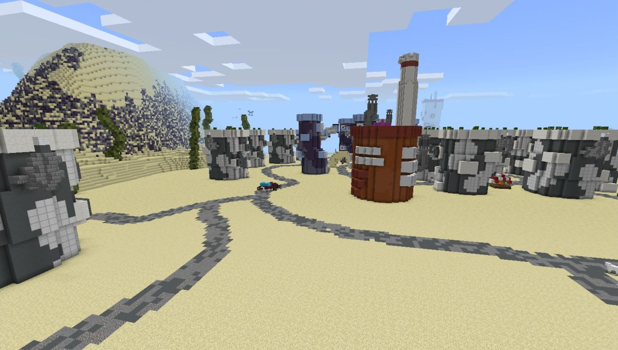 image for 4Bikini Bob City MCPE map