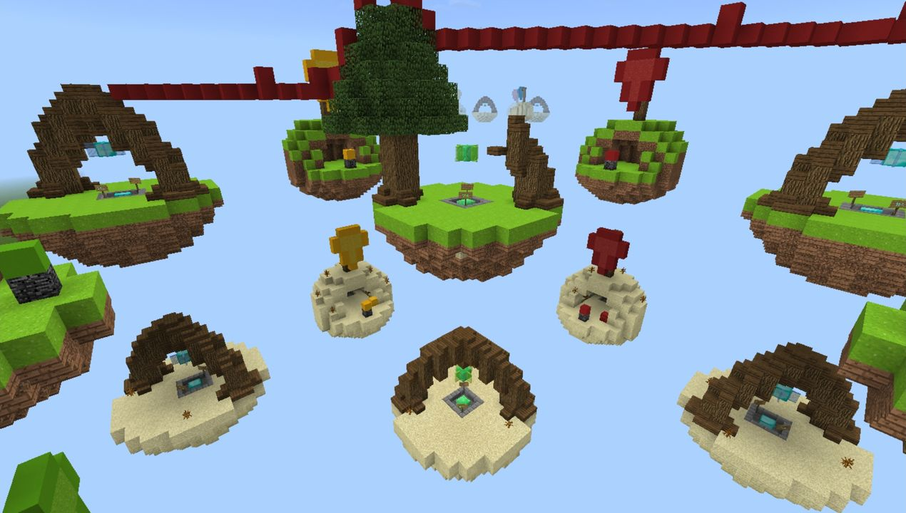 image for 4Bed Wars MCPE map