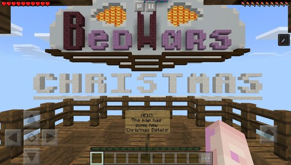 BedWars XMas PvP map