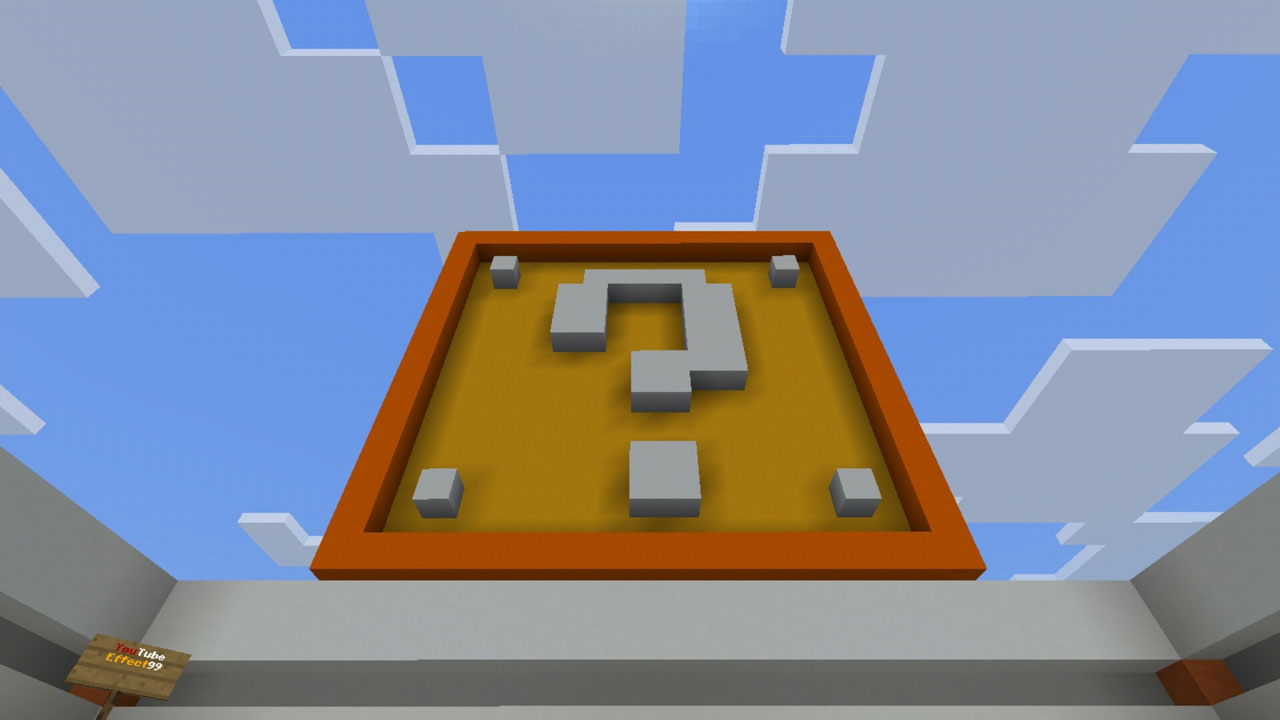 image for 3LuckyBlocks Race MCPE map
