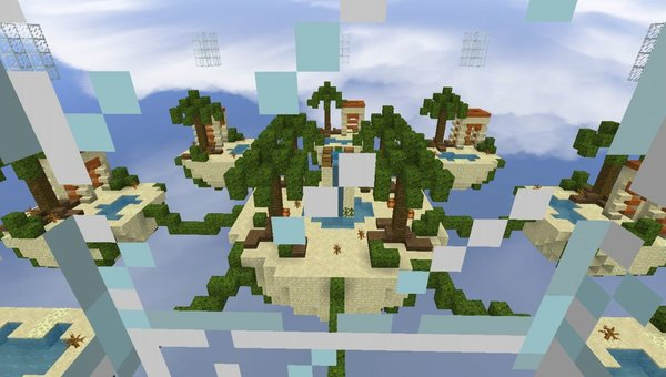 SkyWars 8 mini-maps