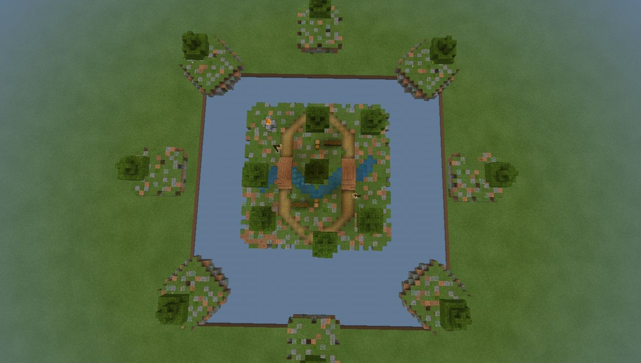 image for 2VanillaGrinders SkyWars MCPE map