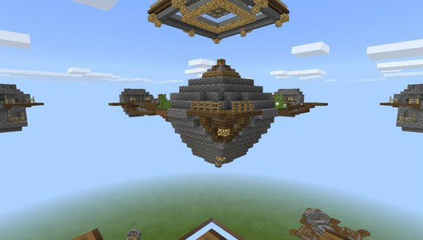 SkyWars PvP MCPE map