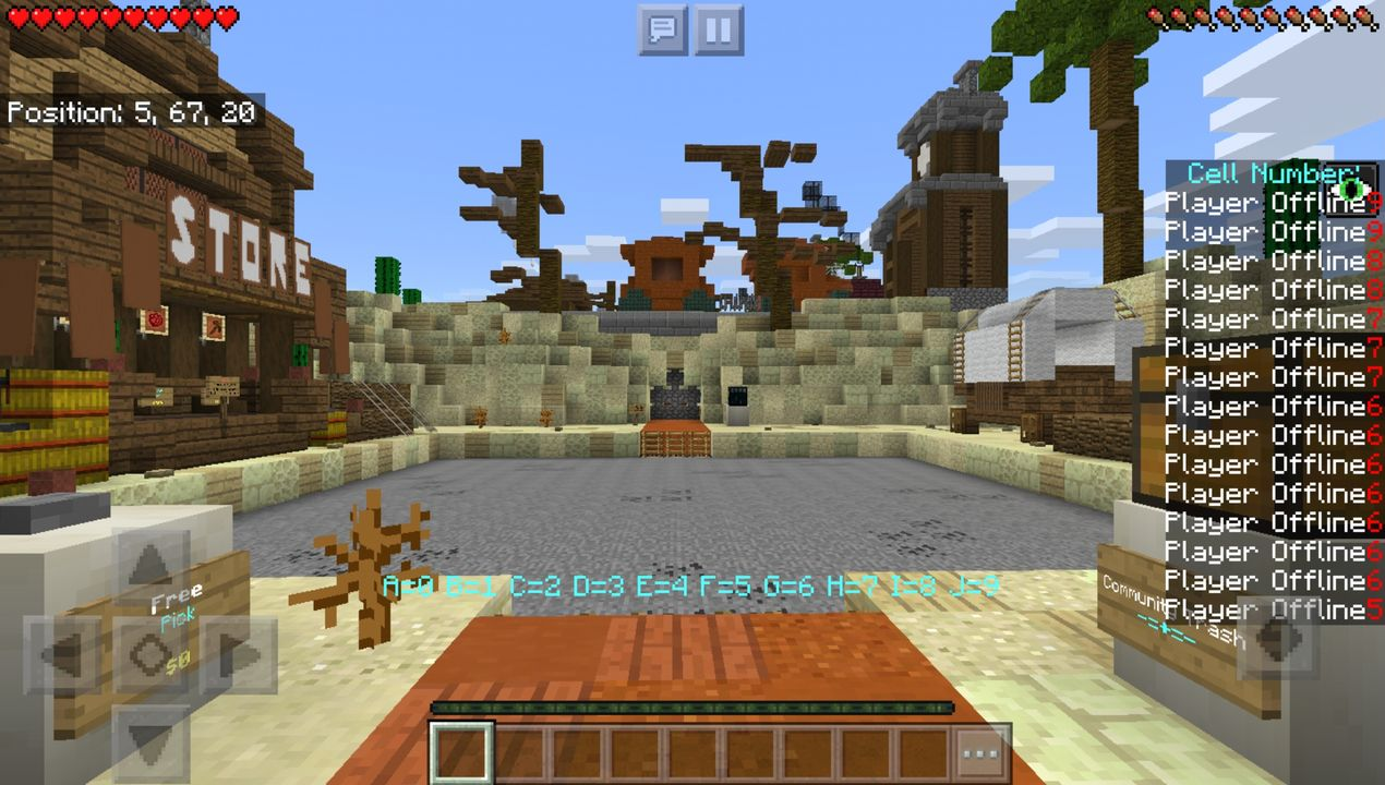 image for 1Prison MCPE map