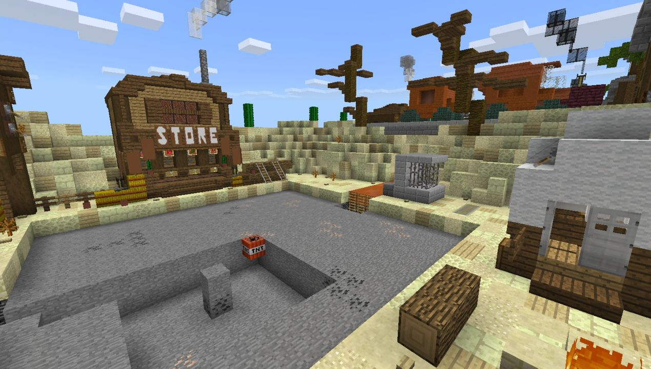 image for 2Prison MCPE map