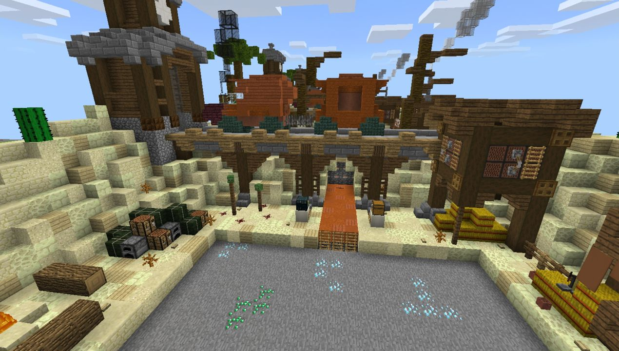image for 3Prison MCPE map