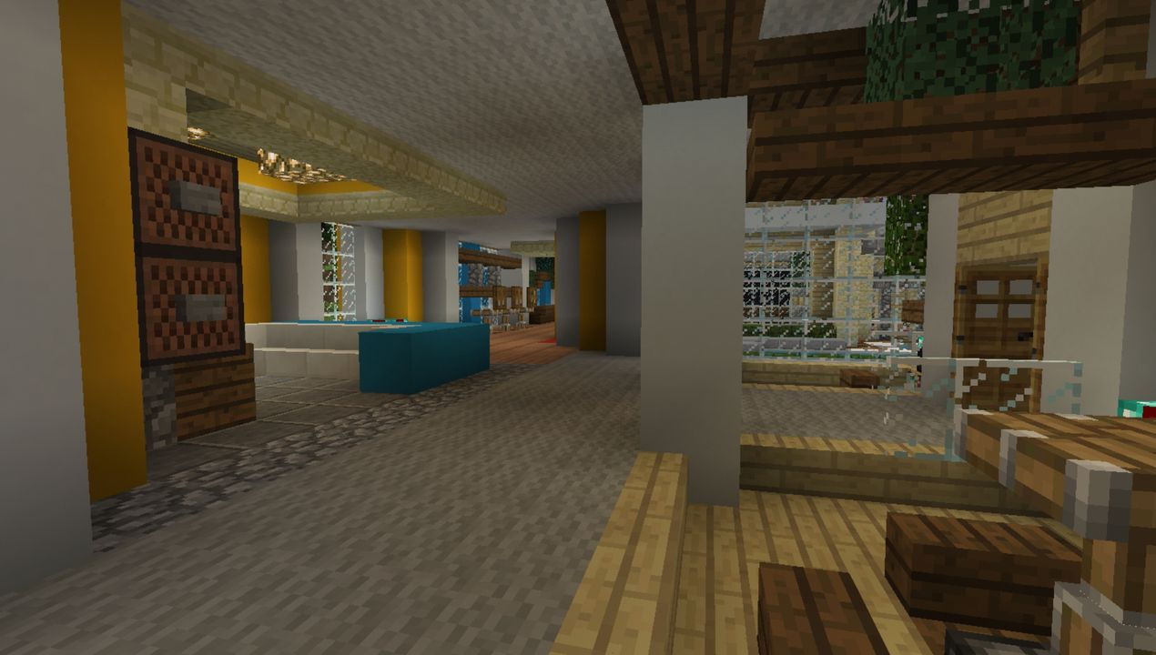image for 3Mansion (Colourful House) MCPE map