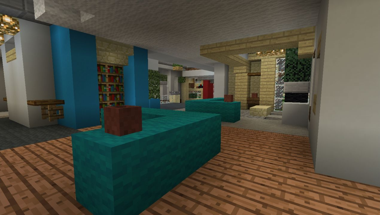 image for 4Mansion (Colourful House) MCPE map