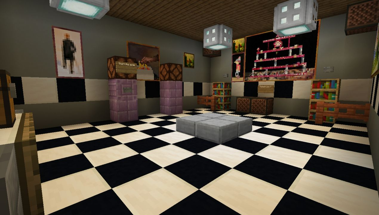 image for 4FNAF Roleplay Project MCPE map