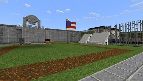 Prison Life MCPE map