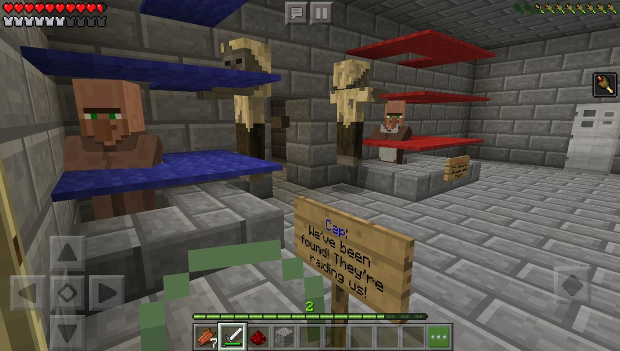 image for 3Mined Prison Darkest Secrets (Chapter 5). MCPE map