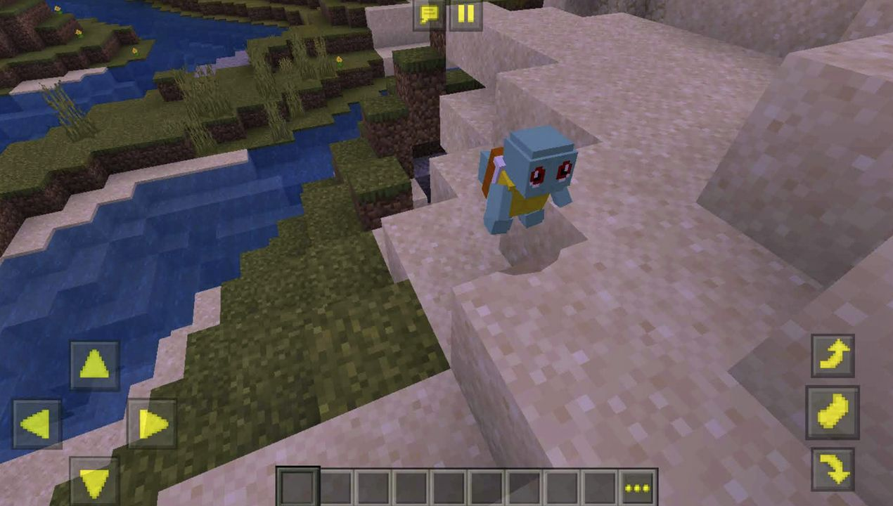 image for 2PokeCraft Addon for MCPE. (Pixelmons 2019)