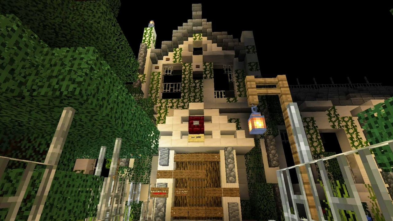 image for 4Carnival of Fears. Halloween MCPE map.