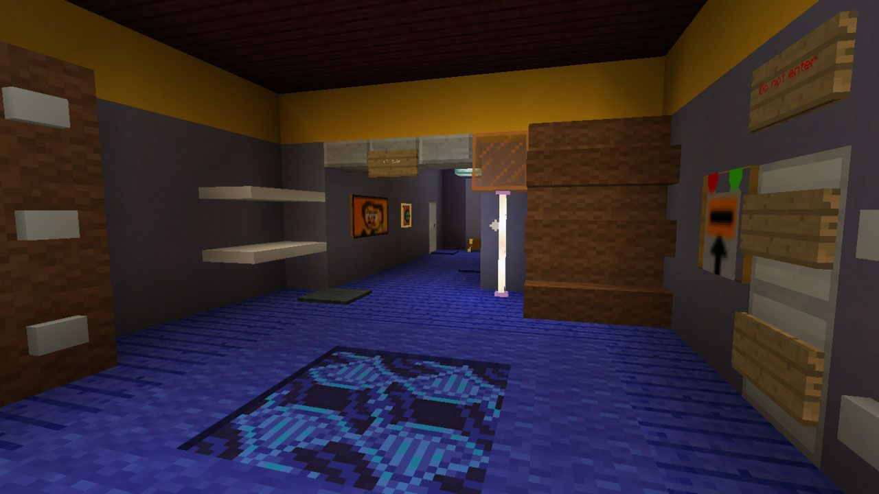 image for 4Neighbor Horror MCPE map