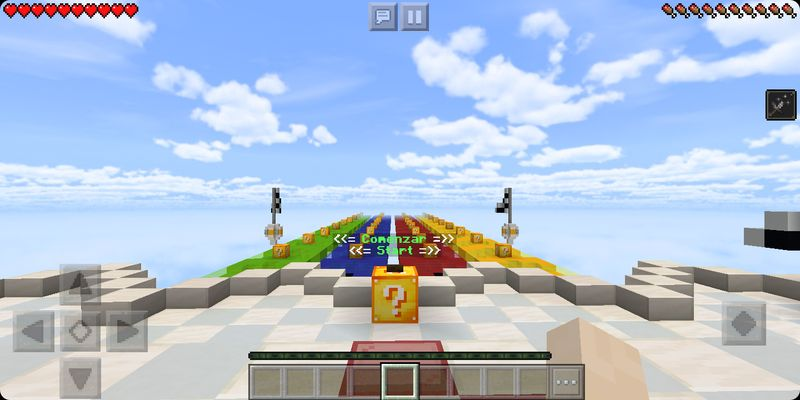 Lucky Block New Race MCPE map
