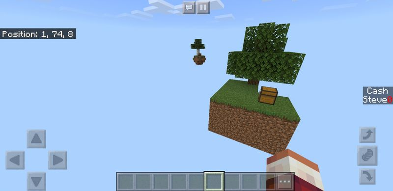 Skyblock Survival map 2019 for Minecraft PE