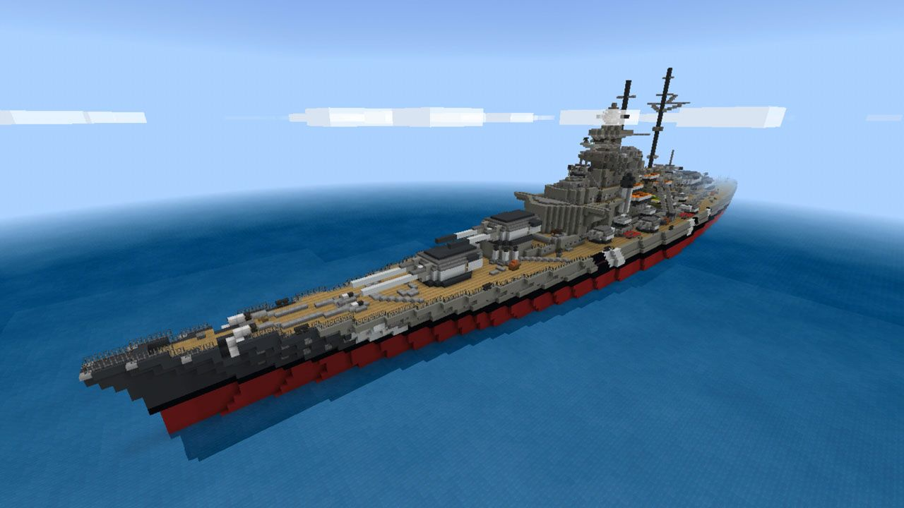 image for 1Ship Murderers MCPE map