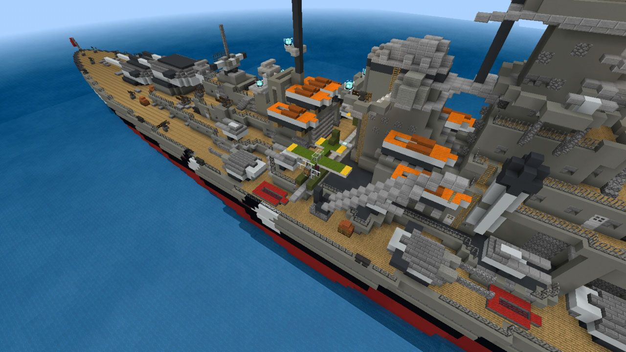 image for 2Ship Murderers MCPE map