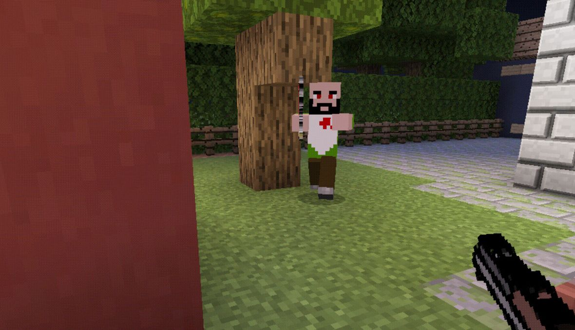 Mr. Meat MCPE map. Scary Butcher.