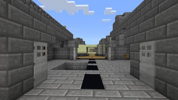 Prison X MCPE map