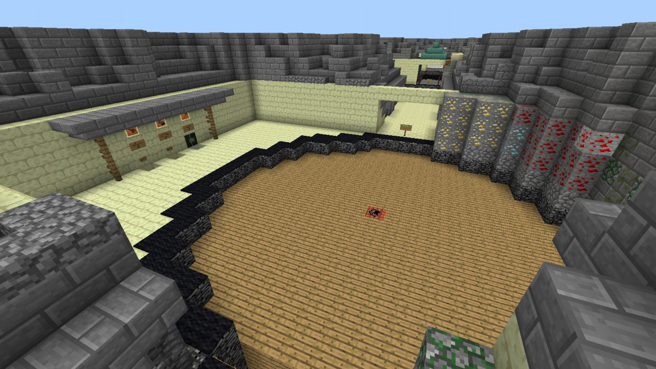 image for 1Prison X MCPE map